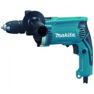 Elektrické nářadí - Makita HP1631K Příklepová vrtačka s kufrem,rychlosklíčidlo 1,5-13mm,710W
