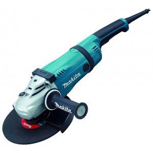 Elektrické nářadí - Makita GA9030X01 Úhlová bruska s antivibrační rukojetí 230mm,2400W