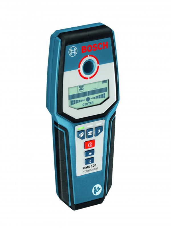 Měřící technika - Lasery - Bosch GMS 120 Professional Digitální detektor kovů 0601081000