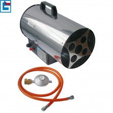 GÜDE Horkovzdušná plynová turbínaGGH 10 INOX 85005