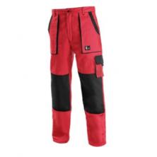 CXS LUXY JOSEF montérkové kalhoty červeno-černé