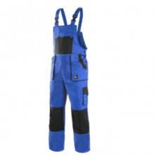 CXS Luxy Robin monterkové kalhoty s laclem modro-černé