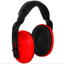 CANIS Mušlové chrániče sluchu EP106, červené