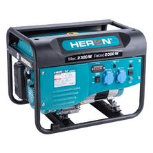Heron elektrocentrála benzínová 2,3kW/5,5HP 8896411