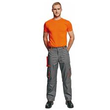 Červa DESMAN pracovní kalhoty šedo-oranžové