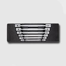 Honiton HA060 Sada nástrčných klíčů, 12-ti hranných, 6 dílů, plastové plato