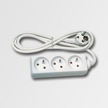 EMOS KL870503 Prodlužovací kabel 3 zásuvky bílý 5m