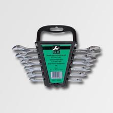 GK Tools Sada plochých klíčů 6-17 mm 6 dílů chrom