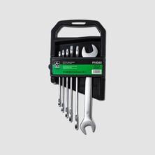 GK Tools Sada plochých klíčů 6-17 mm 6 dílů matný chrom