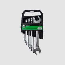 GK Tools Sada plochých klíčů 6-22 mm 8 dílů matný chrom