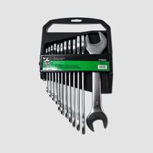 GK Tools Sada plochých klíčů 6-32 mm 12 dílů mat. chrom
