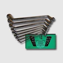 GK Tools Sada očkových klíčů 6-22 mm 8 dílů chrom