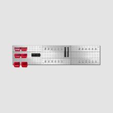 Závěsná stěna s držáky 3 díly 1155x575mm