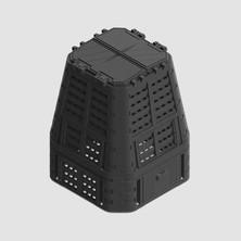 Kompostér černý MULTI 650L