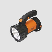 Svítilna LED CREE 3W+12LED bateria 3xAA