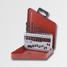 RUKO RU205207 Sada vrtáků 13 dílů HSS-R DIN338 Plechový box