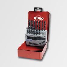 RUKO RU205212 Sada vrtáků 19 dílů HSS-R DIN338 plechový obal