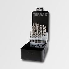 Terrax RUA214215 Sada vrtáků do kovu HSS-G 25dílů