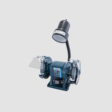XTline XT107150 Bruska stolní dvoukotoučová 150mm/300W + svítidlo 40W