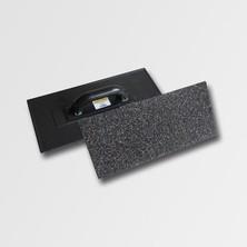 Hladítko plast. s naneseným korundem 400x180mm