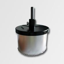 Vykružovací korunka 103 mm komplet