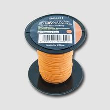 Provázek 50 m, ∅ 1 - 2  mm , oranžový