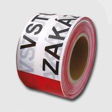 Páska výstražná 250m (CZ) VSTUP ZAKÁZÁN