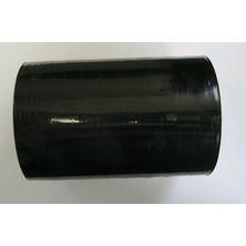 Fólie stretch fixační ČERNÁ 125mm ruční - granát, černá, 23 mic