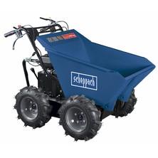 Scheppach DP 3000 -kolový přepravník 4x4 s nosností 300 kg a mechanickým sklápěním korby 5908802903