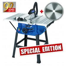 Scheppach HS 100 S Special edition stolová pila + kotouč pro jemné řezy 5901310905