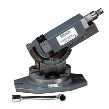 Optimum Trojosý otočný svěrák MV3-75