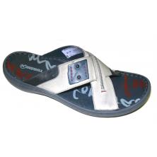HILBY pantofle 1174 šedé