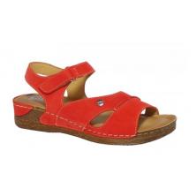 HILBY WA-713/K6N sandál červený