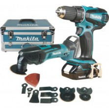 Makita DLX2031YX1 Aku sada DDF456+TM50 Li-ion 18V