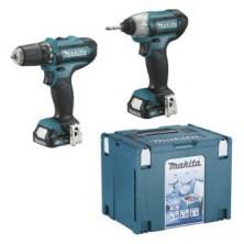 Makita CLX201SAX6 Aku sada DF331DZ+TD110DZ+2xaku+taška+box Li-ion 12V CXT
