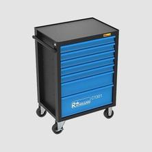 RICHMANN PC1302 Montážní vozík s nářadím, 7 zásuvek, 135dílů