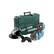 Metabo W 750-125 Set Úhlová bruska v kufru + 4 kotouče 603605680