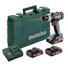 Metabo BS 18 L SET Akumulátorová vrtačka 18V 3x2,0Ah Li-Ion 602321540