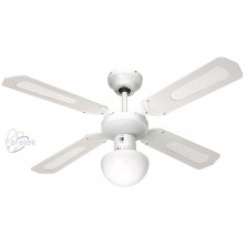 FARELEK BALI white Stropní ventilátor