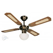 FARELEK BALI hnědá Stropní ventilátor