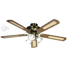 FARELEK BALEARES hnědá Stropní ventilátor