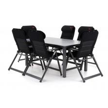 CRESPO LOFTTISCH set 6 AL Luxusní stolová sestava