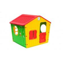 STARPLAST Galilee Village House RED Dětský zahradní domeček