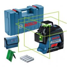 Bosch GLL 3-80 G Professional Čárový laser zelený (3x 360°) 0601063Y00