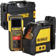 DeWALT DW0889CG Laserový kříž zelený DW088CG + dálkoměr DW099E + kufr TSTAK