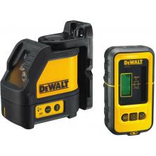 Dewalt DW088KD Samonivelační laserový kříž + přijímač DE0892