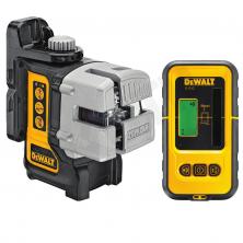 DeWALT DW089KD Samonivelační křížový laser + přijímač DE0892