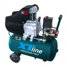 XTline XT2002 Kompresor olejový 1500W, 24l