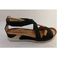 HILBY H-1092 dámský sandál černý
