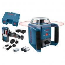 Bosch GRL 400 H Professional Rotační laser + přijímač LR1